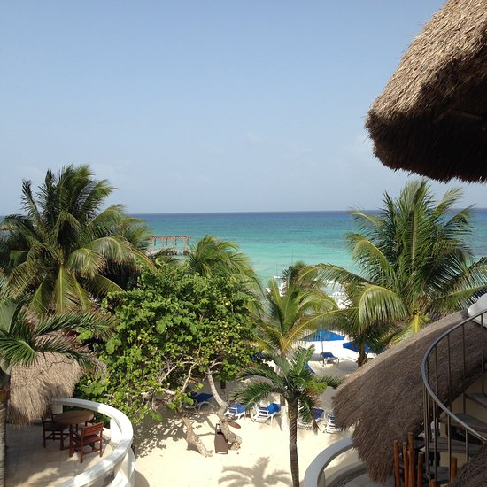 Nice hotel on the beach